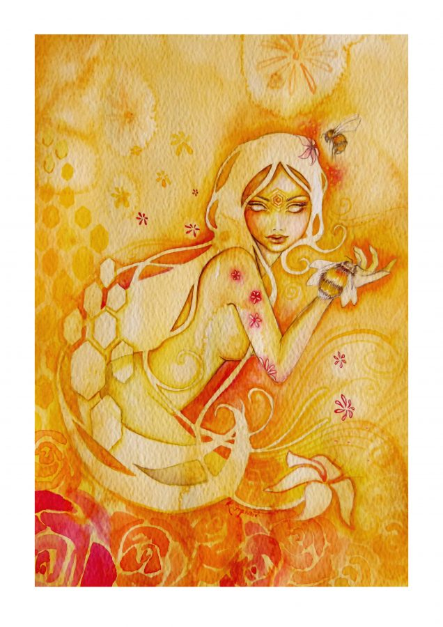 Bee Goddess Art