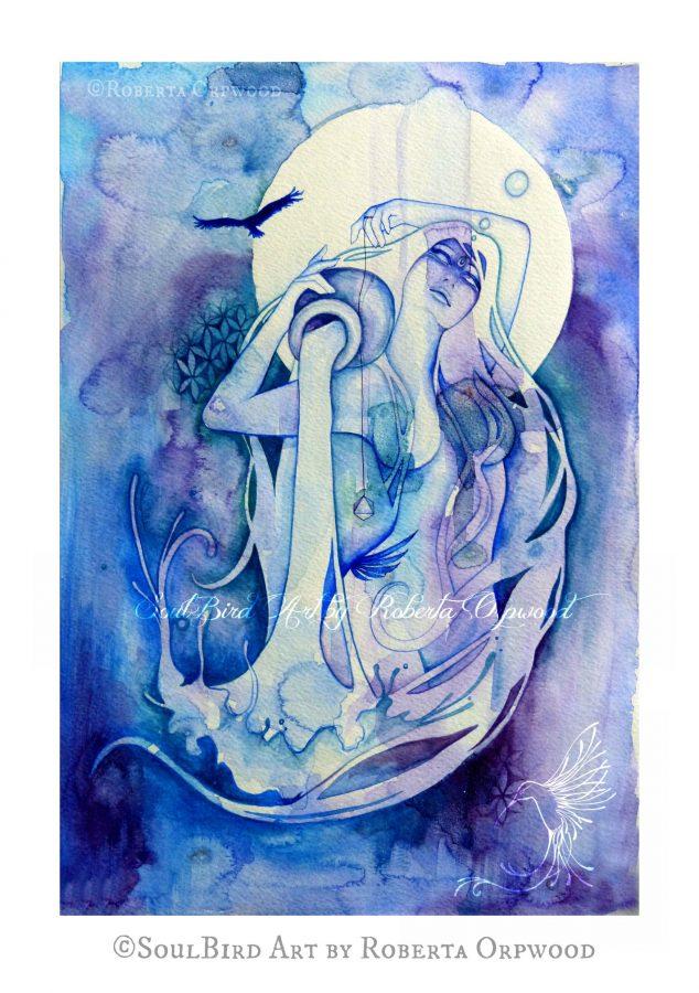 Aquarius Art by Roberta Orpwood