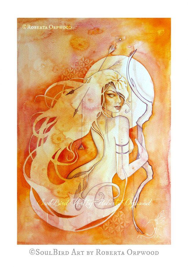 Sagittarius Art