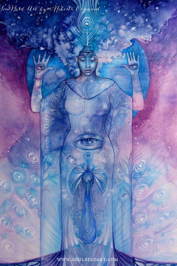 Shamanic-Third-Eye-Chakra-Goddess