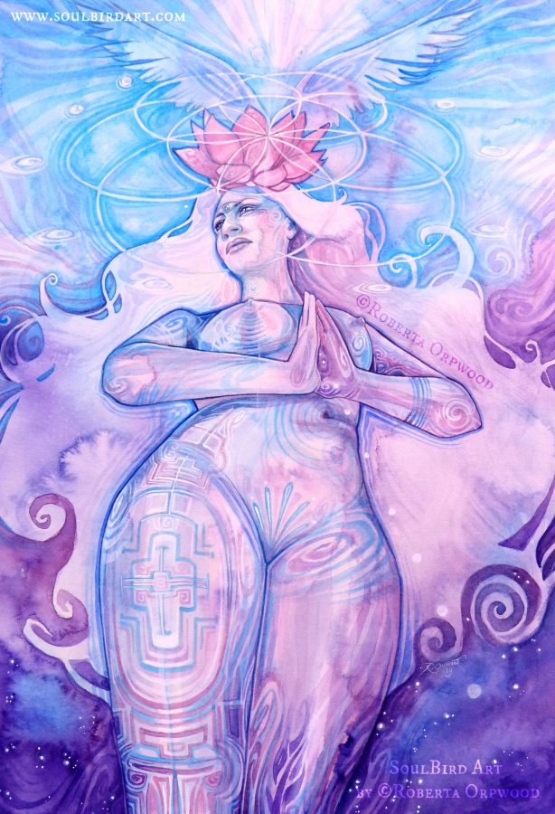 Shamanic-crown-chakra-goddess