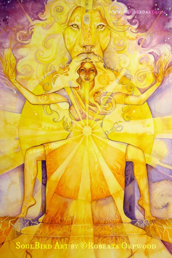 Solar-Plexus-Chakra-goddess