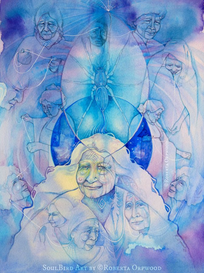Ancestral-healing-spider-spirit-animal