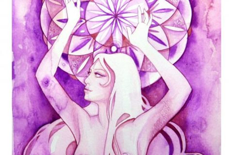 'The Goddess of Sahasrara - Crown Chakra'