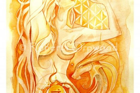 'The Goddess of Svadhisthana - The Sacral Chakra'