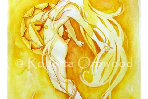 'The Goddess of Manipuraka - The Solar Plexus Chakra'
