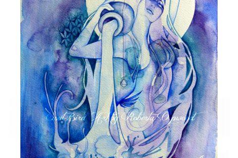 'The Goddess of Aquarius - An Air Element'
