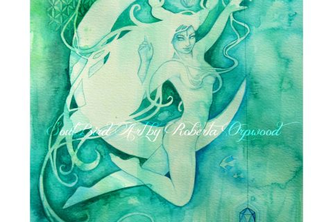 'The Goddess of Cancer - A Water Element'