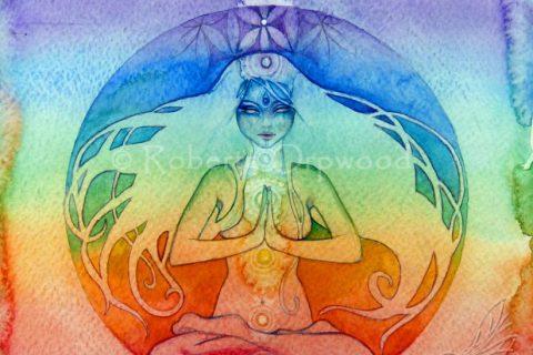 'Chakra Goddess' by Roberta Orpwood