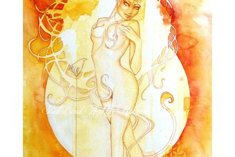 'The Goddess of Leo - Fire Element'