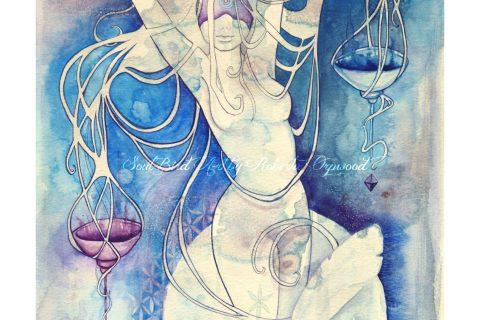 The Goddess of Libra - An Air Element'