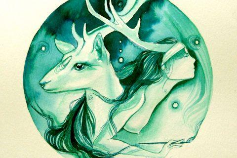 'Deer Spirit Shaman'