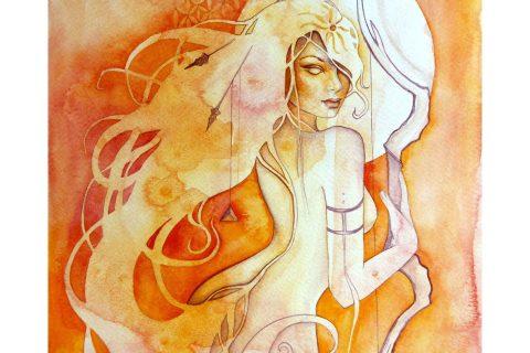 'The Goddess of Sagittarius - A Fire Element'