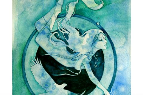 'The Goddess of Scorpio - A Water Element'