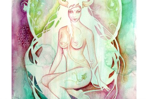 'The Goddess of Taurus - An Earth Element'